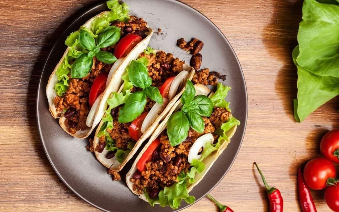 Taco met gehakt